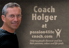 Coaching with Holger at passion4lifecoach.com